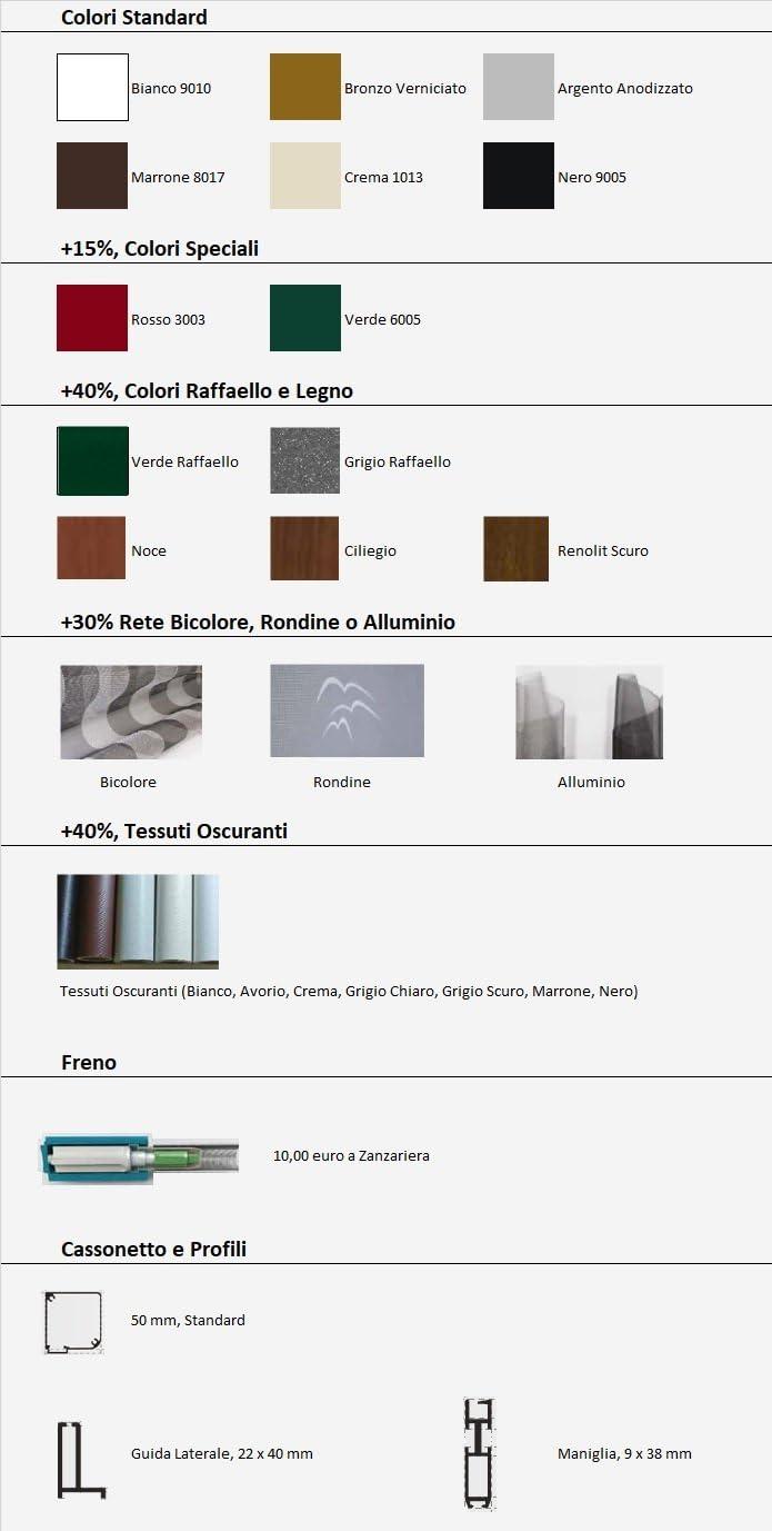 OR Tende – Mosquitera vertical de aluminio, con cadena y enganches ...
