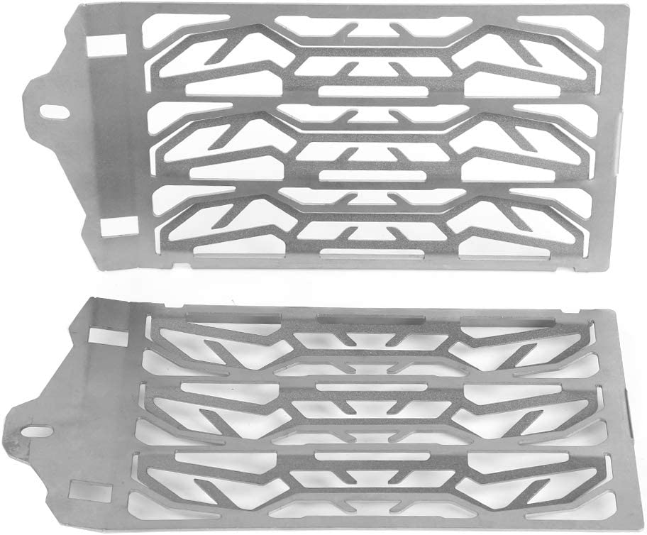 Aramox Motorcycle Radiator Guard Protector Radiator Grille Guard Cover 2 pcs Motorcycle Radiator Water Tank Protection Cover Grill Fitment for R1200GS LC ADV 2013-2016