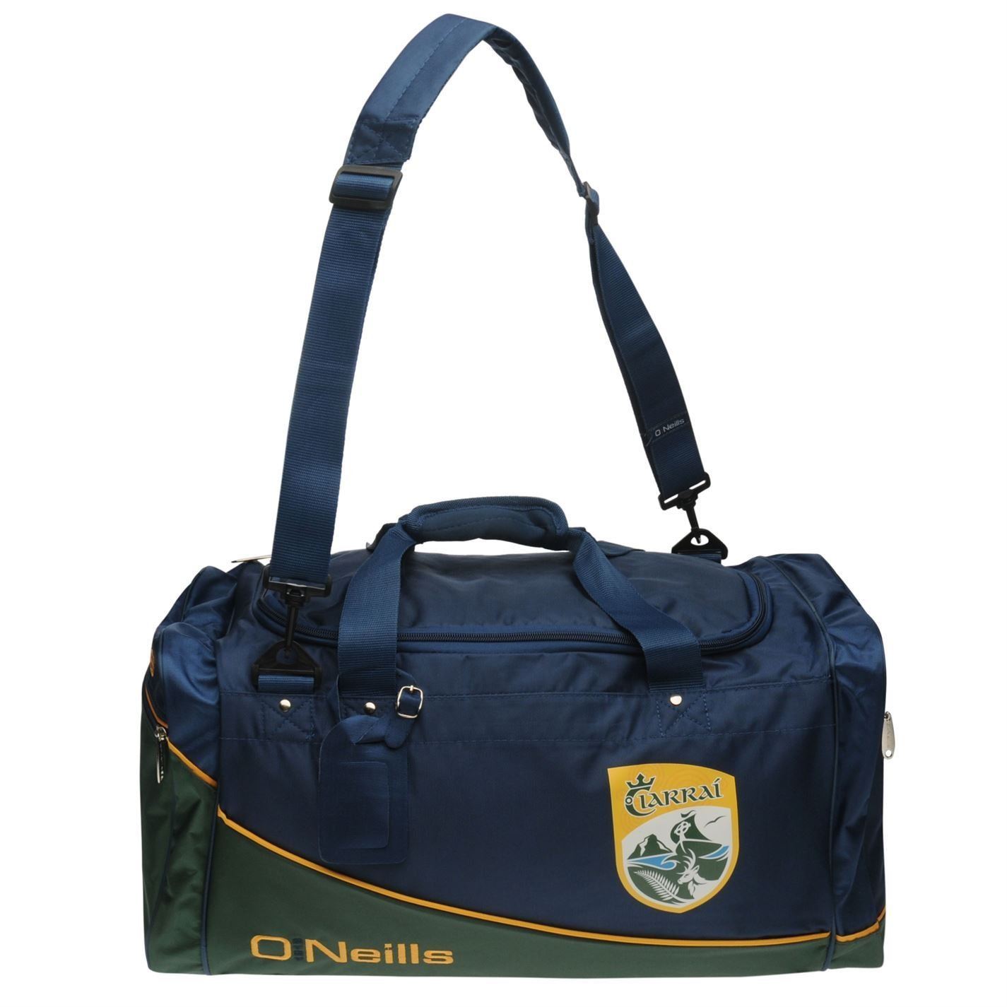 d9cbe0ddbabd46 O'Neills Kerry GAA Gaelic AA Burren Holdall Marine Sports Bag Carryall W:48  x H:28 x D:28 (cm): Amazon.co.uk: Luggage