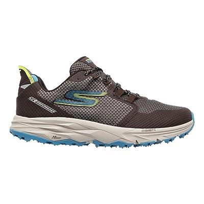 Skechers Women's GO Trail 2, Charcoal/Blue, 6.5 B US | Running