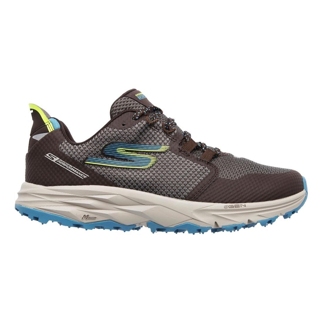 Skechers Womens Go Trail 2 B06X18RJYY 9.5 B(M) US|Chocolate/Blue