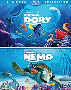 finding dory finding nemo double pack blu