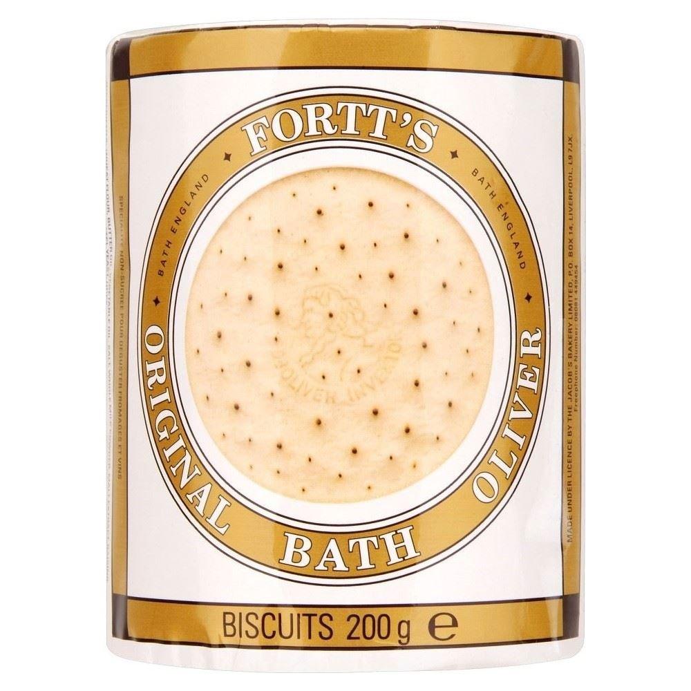 Fortt's Original Bath Oliver Biscuits (200g) - Pack of 2
