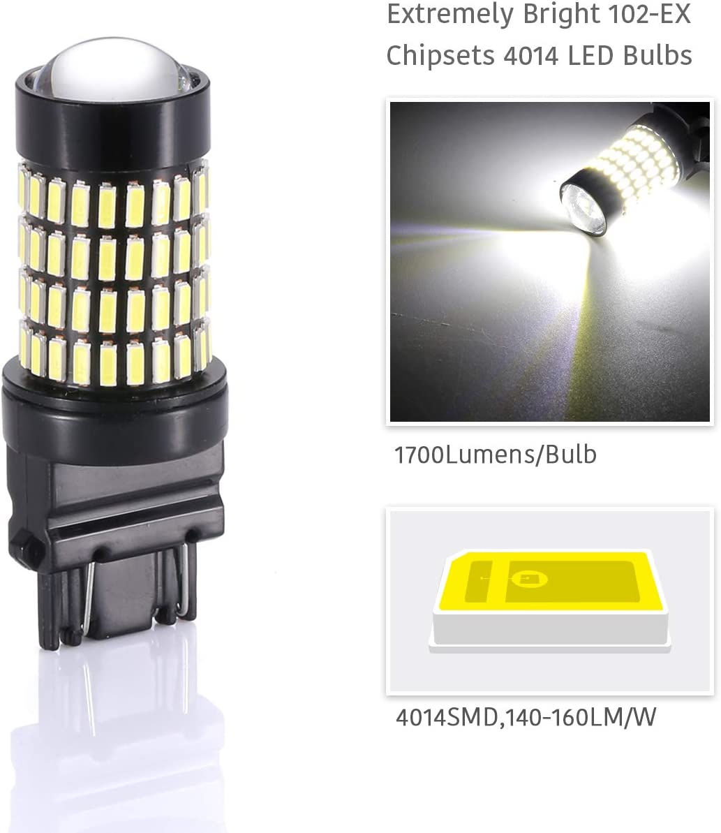 Brightest LED in market LUYED 2 X 1700 Lumens Extremely Bright ...