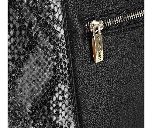 Wittchen Tasche | Farbe: Schwarz | Material: Kunstleder | Höhe (cm): 27 - Breite (cm): 36 | Sammlung: Young | 83-4Y-406-1
