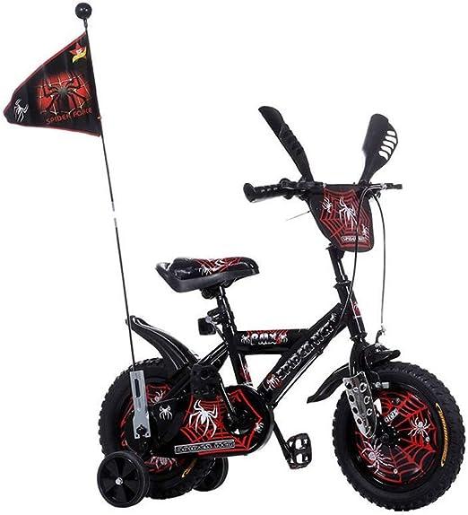 Showkig Regalo de cumpleaños Spiderman Bicicleta for niños ...