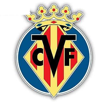 13cm x 10.5cm para Villarreal CF FC España Footbal Graphics Auto Stickers Decals para la carrocería del ordenador portátil: Amazon.es: Bricolaje y herramientas