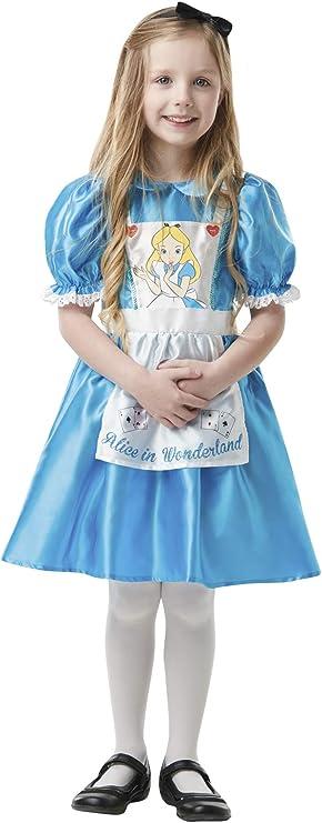 Disfraz de Alicia País Maravillas Clásico para niña: Amazon.es ...