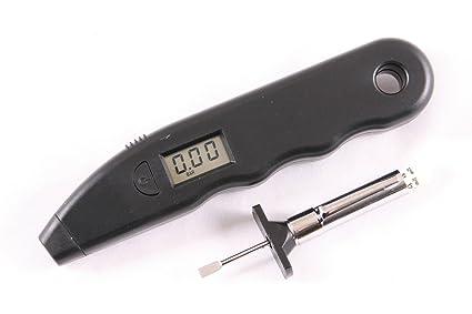XtremeAuto® Neumático salud kit – 2 piezas – Indicador de presión digital + medidor de