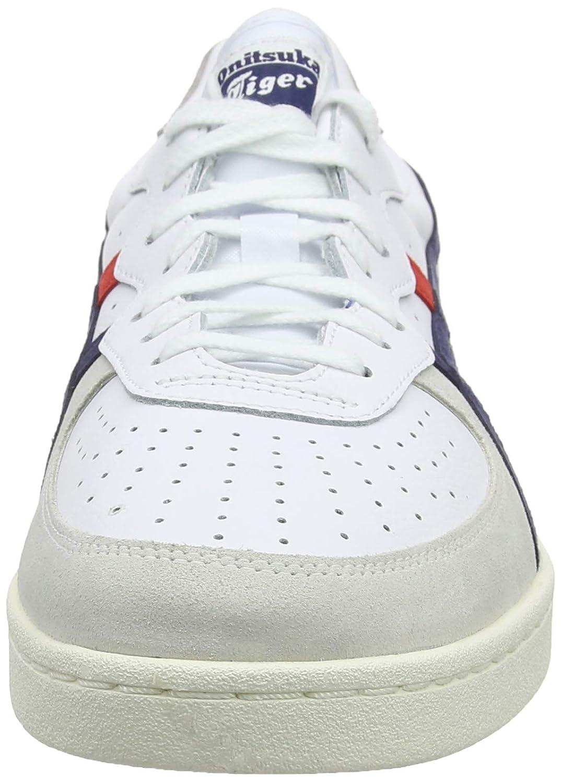 ASICS Unisex-Erwachsene GSM Fitnessschuhe Weiß (White/Peacoat 100)