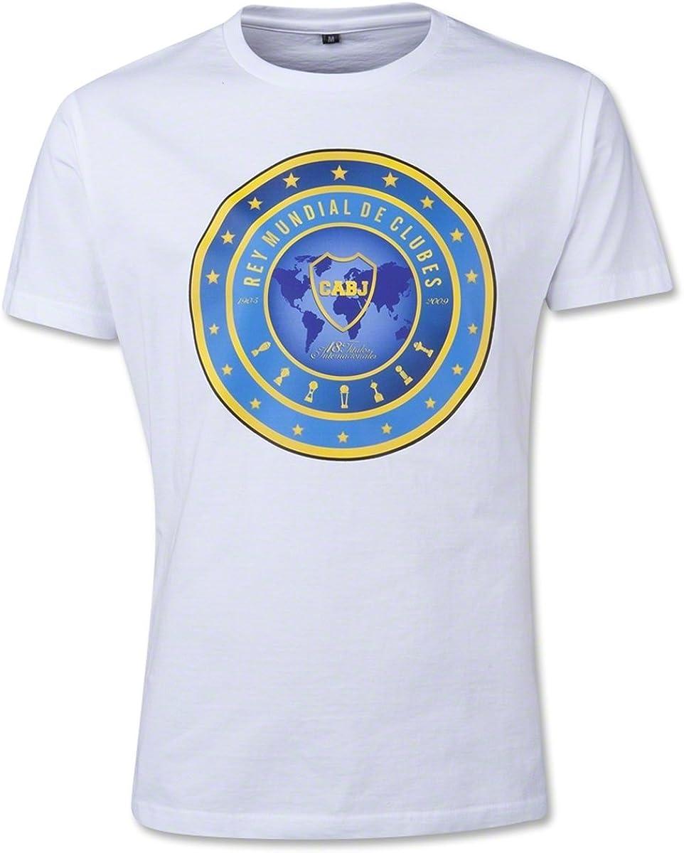 Boca Juniors Boca Rey Mundial - Camiseta para Hombre (Talla S), Color Azul