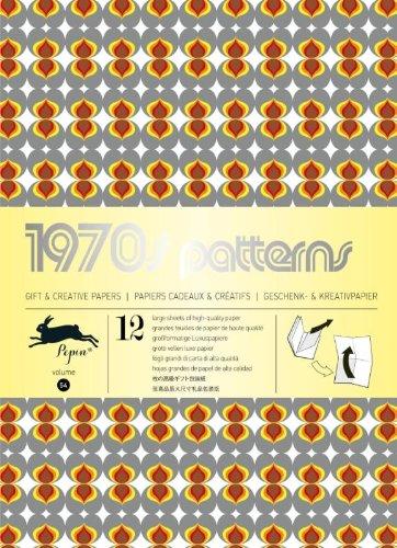 1970s Patterns: gift and creative paper book Vol 54 (Gift wrapping paper book (54)) (Englisch) Taschenbuch – 15. November 2013 Pepin van Roojen Pepin Press B.V. 9460090664 9789460090660
