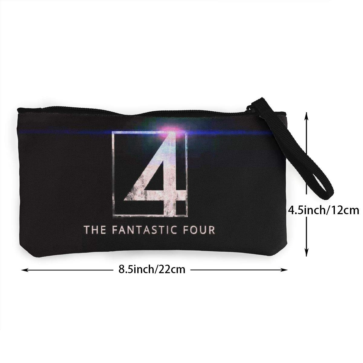 Fan-tastic Four Canvas Cash Coin Purse Zipper Pouch Phone Pouch And Woman Make Up Bag