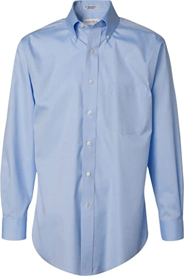 330a7d1e138 Image Unavailable. Image not available for. Color  Van Heusen Men s  Long-Sleeve Non Iron Pinpoint Oxford Shirt ...