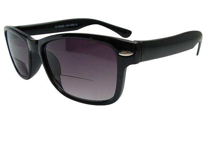 Gafas de sol bifocales Wayfarer, para leer, de cristales ...