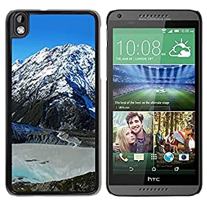 Unique DIY Designed Cover Case For HTC Desire 816 With Mount Cook Nature Mobile Wallpaper Phone Case