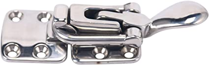 Amarine-made Stainless Steel Hold Down Clamp-locking Cam Latch for Boat//Caravan