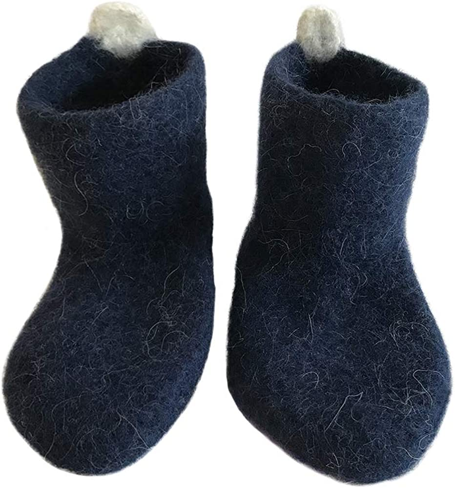 Kosy Sheep Warm Cozy House Slippers Socks for Men Women, Iceland Wool Breathable. Eco Gift