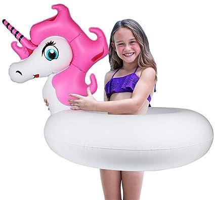Amazon.com: Aitey - Flotador de piscina para niña, inflable ...