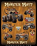 D'Cor Visuals Monster Jam Sticker Decal Sheet