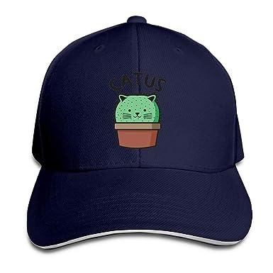 dongpujidiangongsi Catus Cat Cap Unisex Low Profile Cotton Hat ...