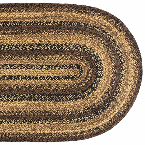 IHF HOME DECOR 5 X 8 New Country Style Oval Area Floor