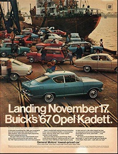1967 General Motors Opel Kadett Ad