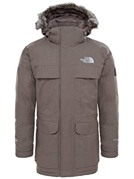 f13a727c84 The North Face M McMurdo Parka Veste Parka pour Homme XS Marron (Brun  Faucon)