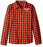 Cleveland Browns 2016 Wordmark Basic Flannel Shirt - Womens Extra Large