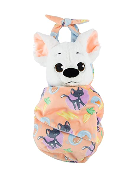 Amazon Com Disney Parks Baby Bolt Dog Puppy In A Pouch Blanket