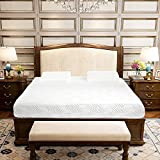 Leadzm White Cotton Mattress 10'' Three Layers Cool Medium High Softness with 2 Pillows (FULL Size) Memory Design Care About Your Health