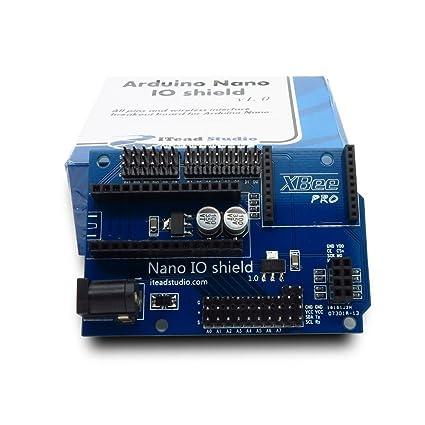 Amazon com: ITEAD Arduino Nano I/O Shield: Computers