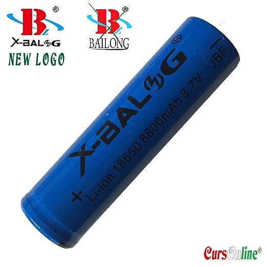 7 opinioni per CursOnline® Pile X-Balog Nuovo Logo Bailong- 2 Batterie ricaricabili Alta