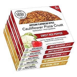 Cali'flour Foods Gluten Free - Low Carb - Cauliflower Pizza Crusts