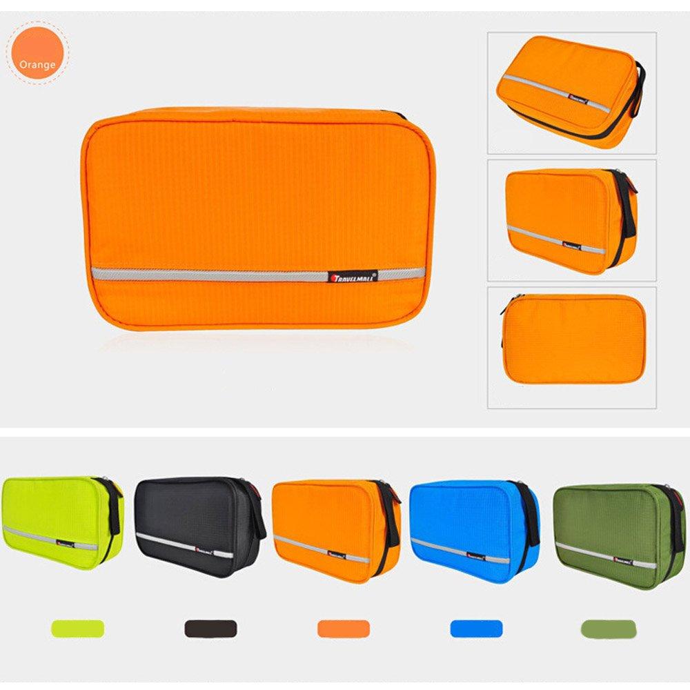 9d280fd63fbc Buy Orange : WOMHOPE 3 Pockets - Waterproof Folding Travel Storage ...