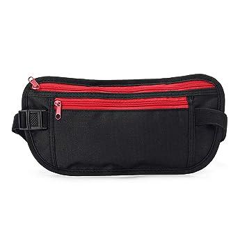 Anti-thief Nylon Pouch Hidden Wallet Travel Passport Money Slim Sport Waist Bag