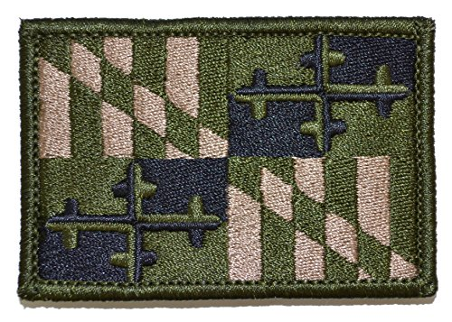 Maryland State Flag - 2x3 Morale Patch (Multicam)