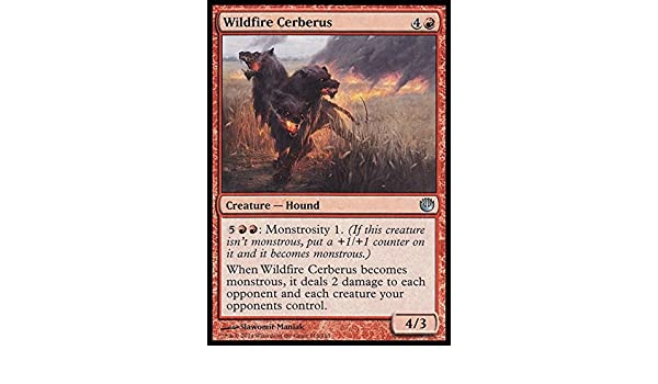 116//165 Magic: the Gathering Wildfire Cerberus - Journey into Nyx by Magic: the Gathering
