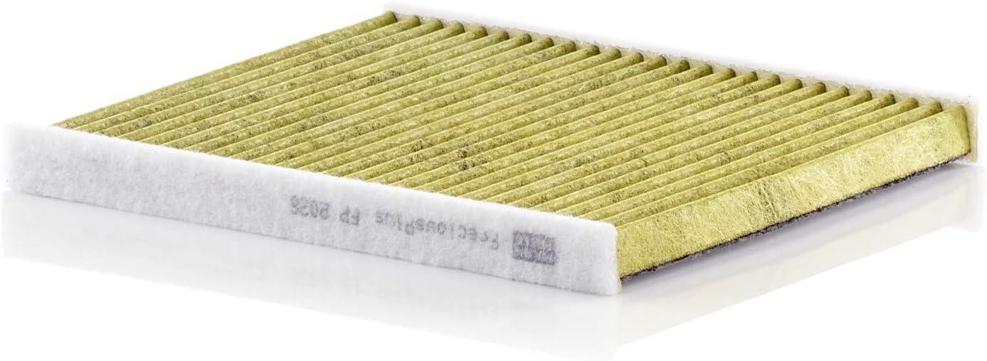 Original Mann Filter Innenraumfilter Fp 2026 Freciousplus Biofunktionaler Pollenfilter Für Pkw Auto