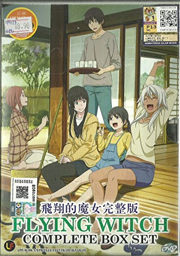 FLYING WITCH - COMPLETE TV SERIES DVD BOX SET ( 1-12 EPISODES)