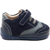 Minipicco Unisex Bebek Lacivert Deri Ortopedik İlk Adım Ayakkabı-20K1A9105_324_5-$P-Minipicco-580