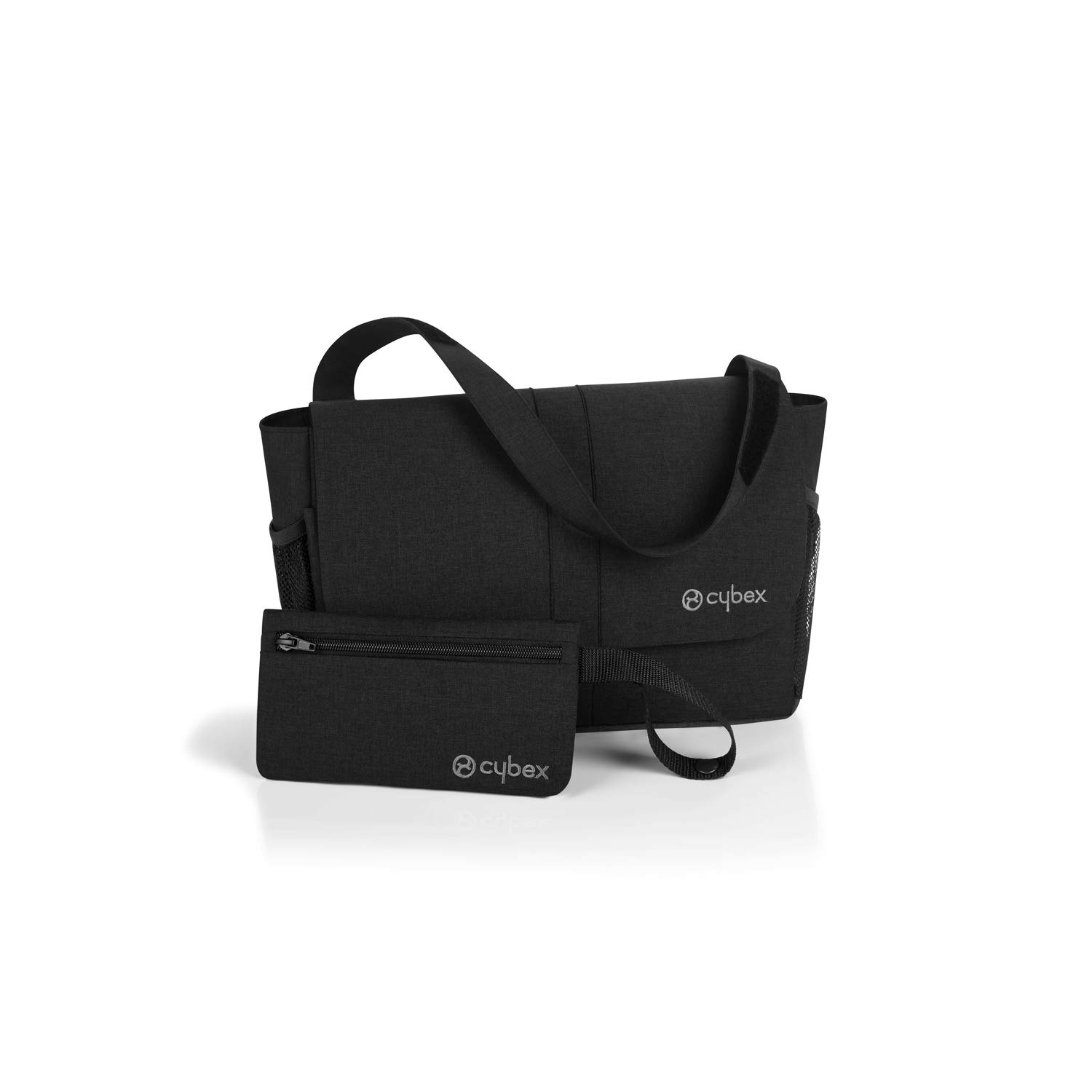 Spacious Bag with Strap CYBEX Gold Organizer Storage Bag for Small Items Black Incl