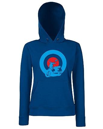 T-Shirtshock - Sudadera Hoodie para Las Mujeras OLDENG00344 Mods Vespa, Talla L: Amazon.es: Ropa y accesorios