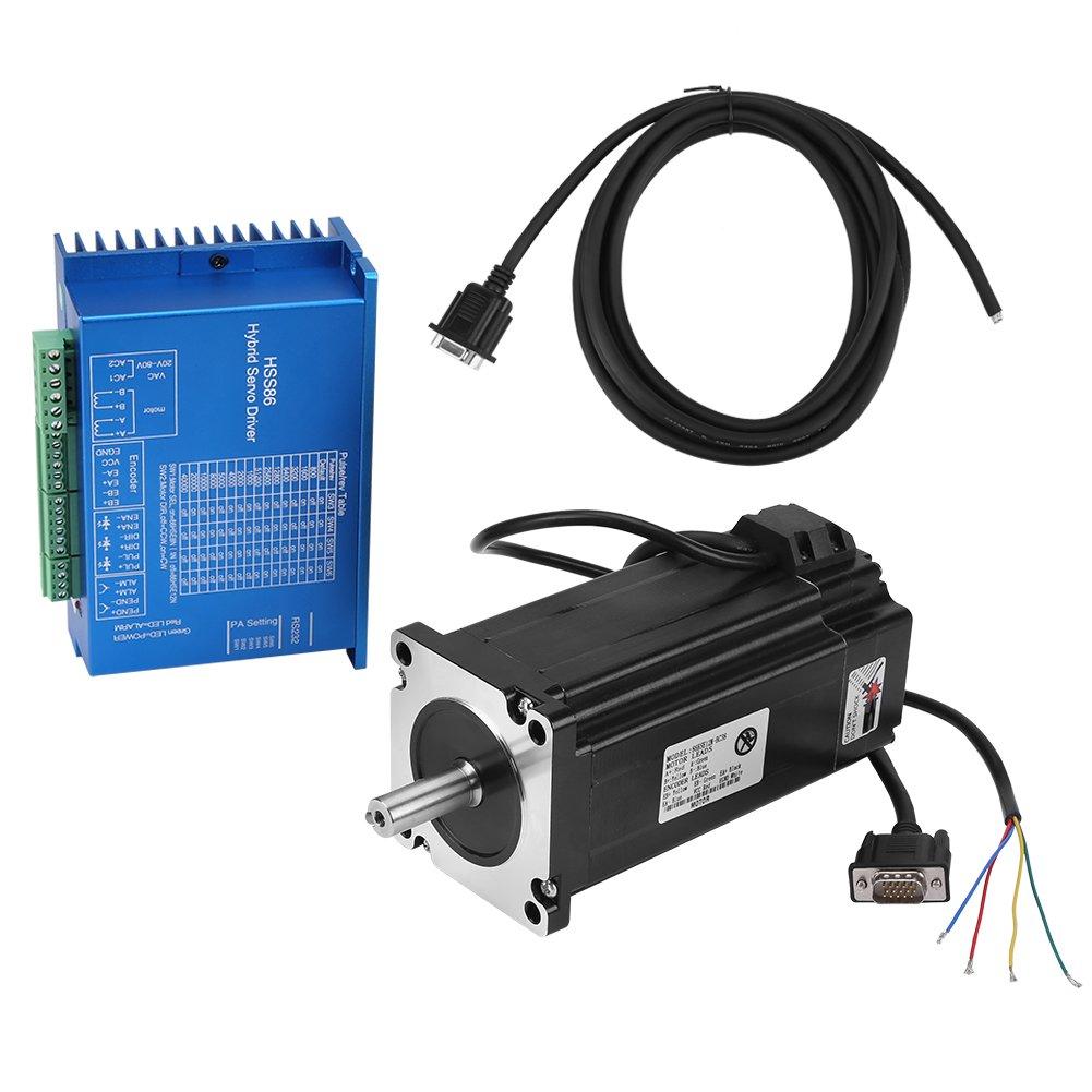 モータサーボドライブ AC20V80V / DC30110V モータ ケーブル   B07H24RHSS