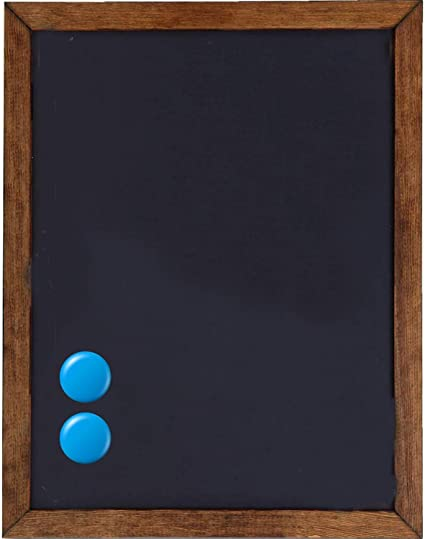 Premium Magnetic Decorative Hanging Chalkboard With Rustic Pine Wood Use With Regular Or Liquid Chalk Non Porous Wall Blackboard For Home Classroom Office 11 X 14 Office Products