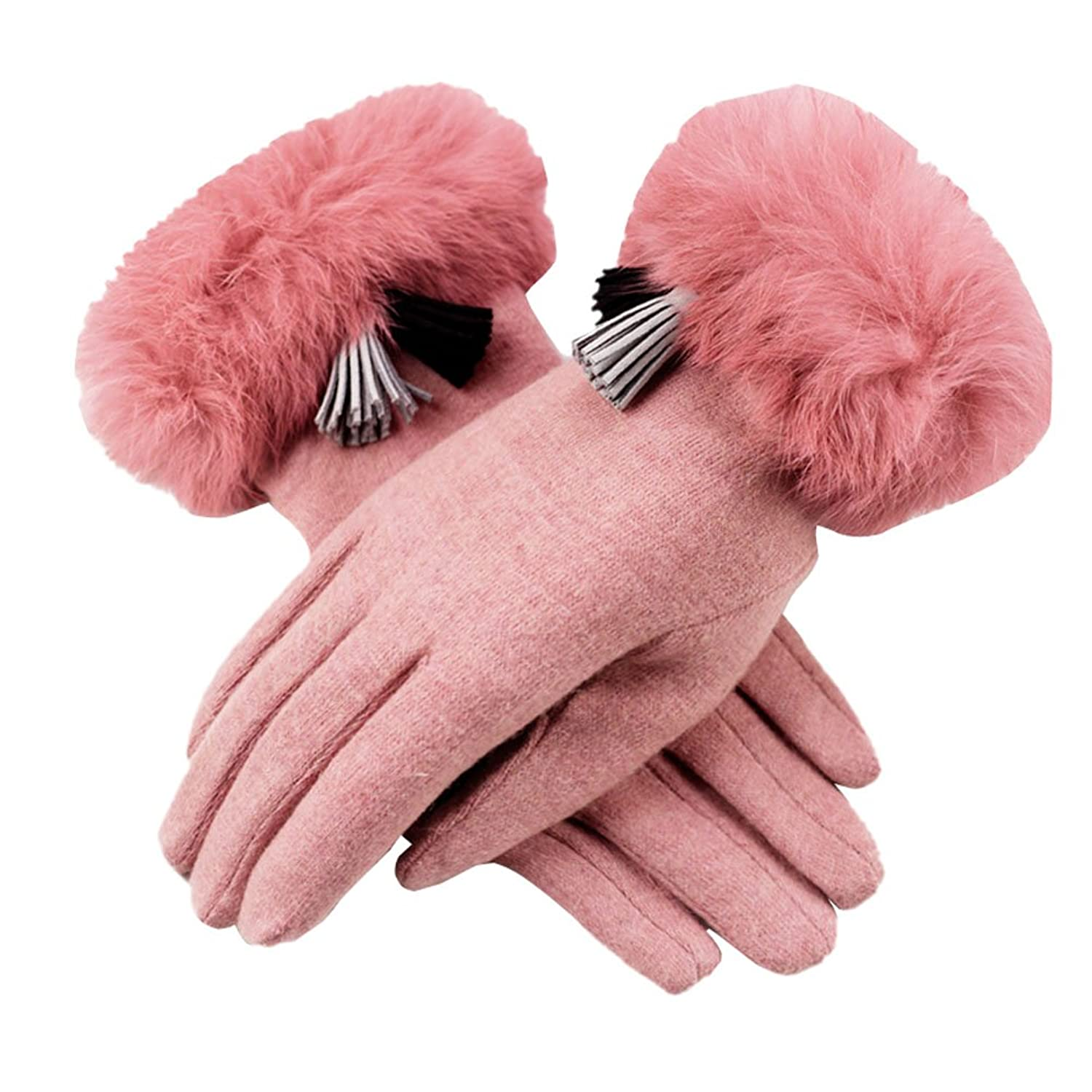 Driving texting gloves - Lerela Womens Touch Screen Winter Warm Fleece Lined Gloves Pink Driving Texting Gloves 70 Off