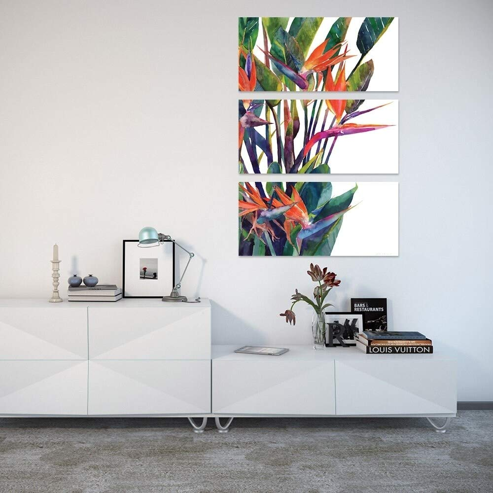 iCanvasBird of Paradise by Maja Wronska Canvas Print 26 x 18 x 0.75