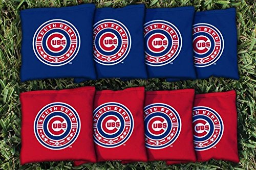 Victory Tailgate 8 South Bend Cubs MiLB Regulation Corn Filled Cornhole Bags