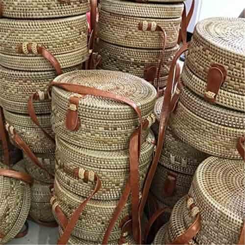 ba85d247d6cf Shopping RASFYB - Straw - Tote - Top-Handle Bags - Handbags ...