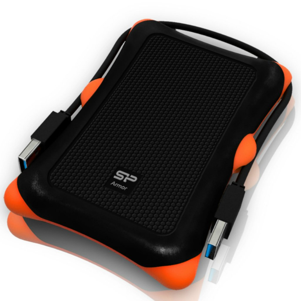 Shockproof USB 3.0 for PC Mac Xbox and PS4 Silicon Power 1TB Black Rugged Portable External Hard Drive Armor A60 New Version